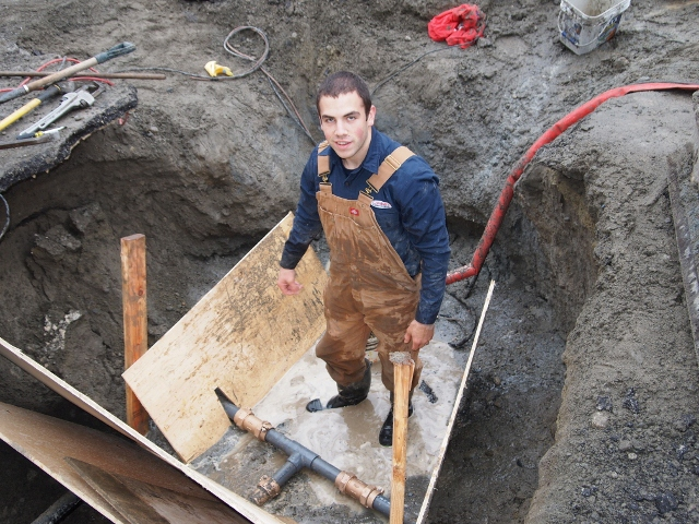 New Westminster Sewer Line Repairl