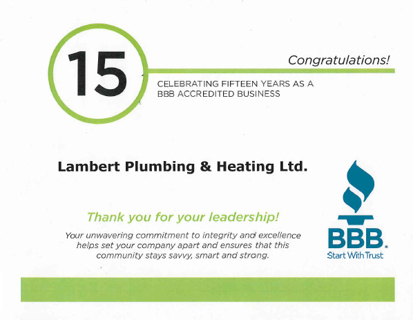 Lambert Plumbing and Heating Vancouver, BC